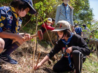 2021.4.11 記念植樹・ハイキング